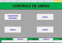 Planilha Grátis Cálculo de material de construção
